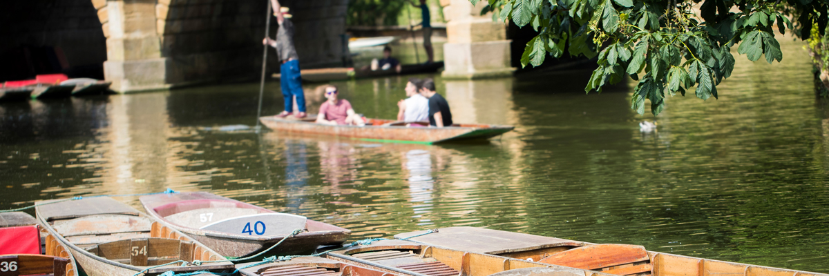Punting-On-River-Cherwell-Oxford