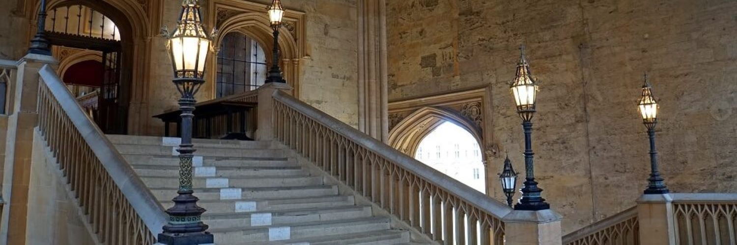 University of Oxford Staircase